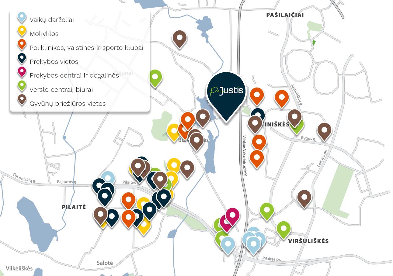 """Naujas CITUS projektas Vilniuje – """"PaJustis"""""""