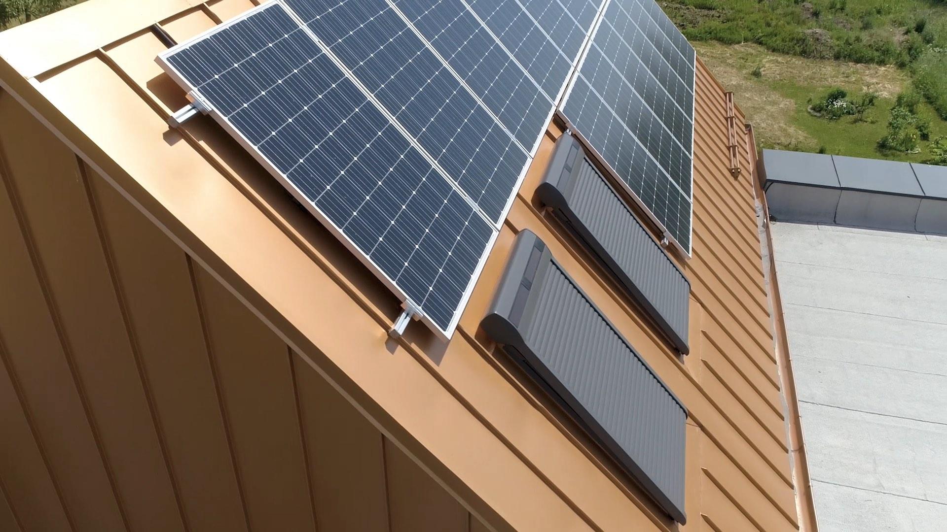 Aeronamų sprendimai: gudrūs stogo langai