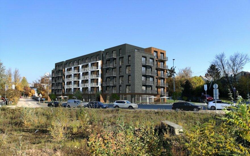 Šnipiškėse išdygs naujas gyvenamųjų namų kvartalas